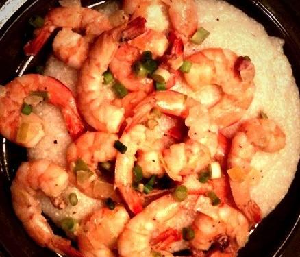 shrimp grits comfort food recipe kale