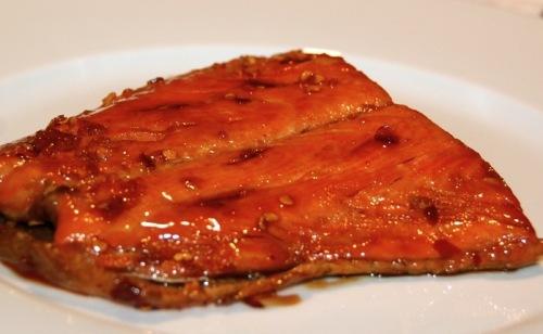 Honey Soy-Glazed Salmon with Bok Choy | Grabbing the Gusto
