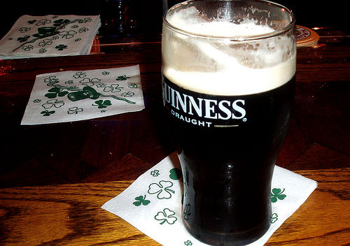 beef guinness stout beer stew st patricks irish dinner recipe
