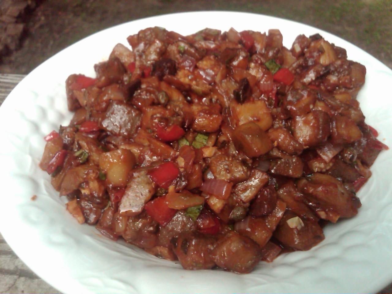 eggplant caponata recipe appetizer snack