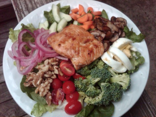 quick healthy salmon dinner