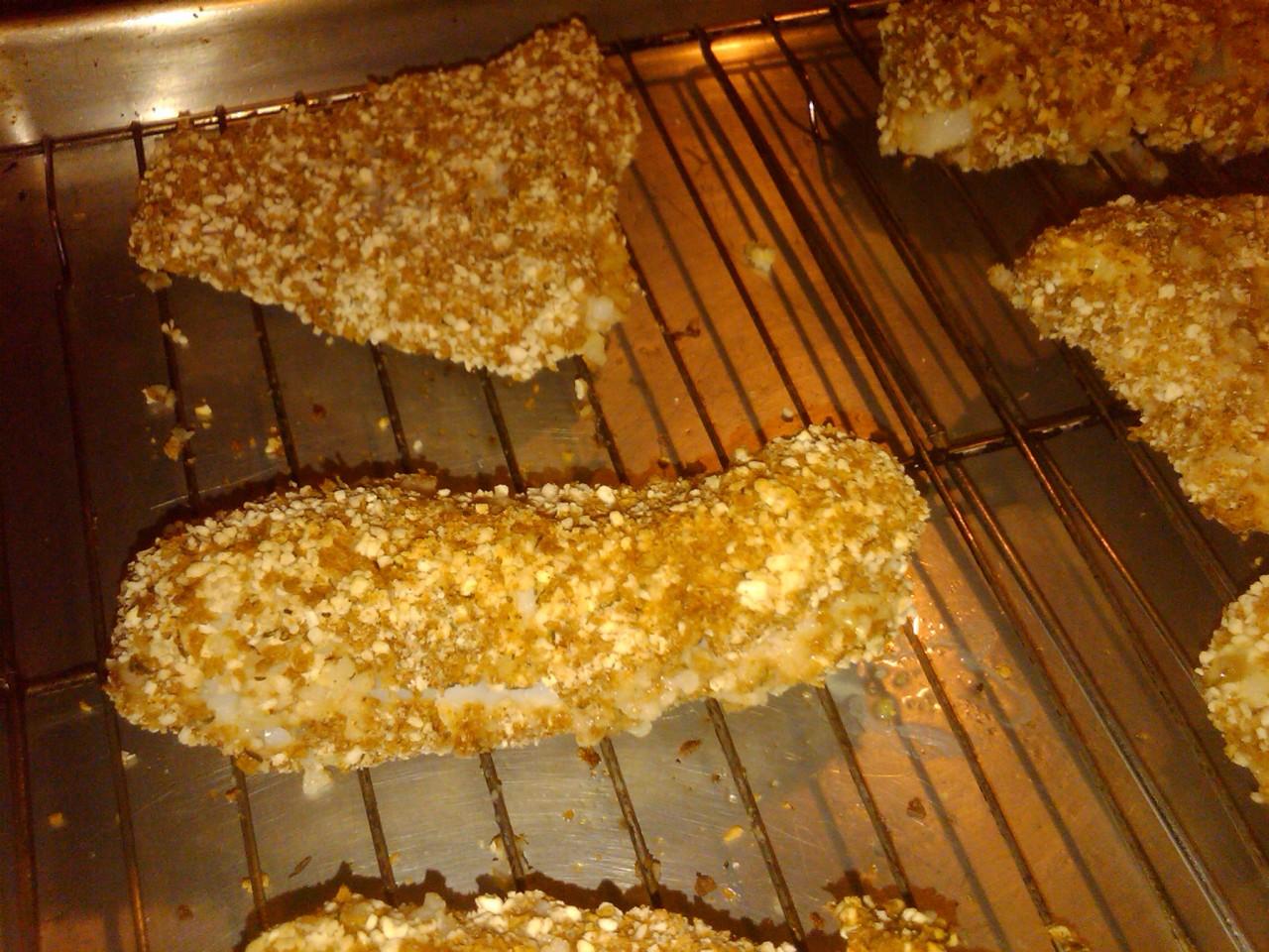 homemade baked fish sticks recipe