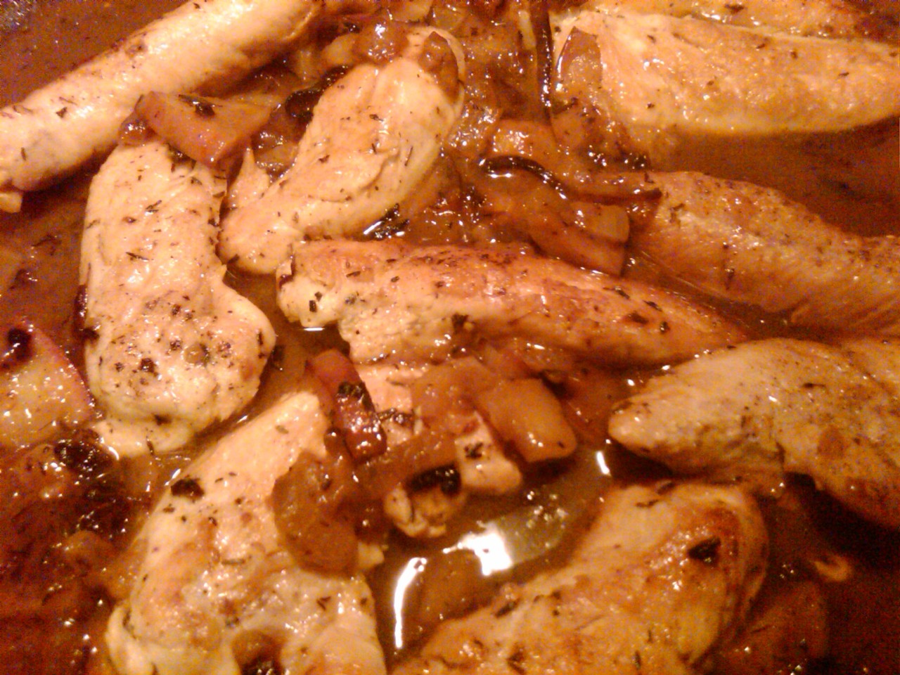 apple cider chicken recipe quick