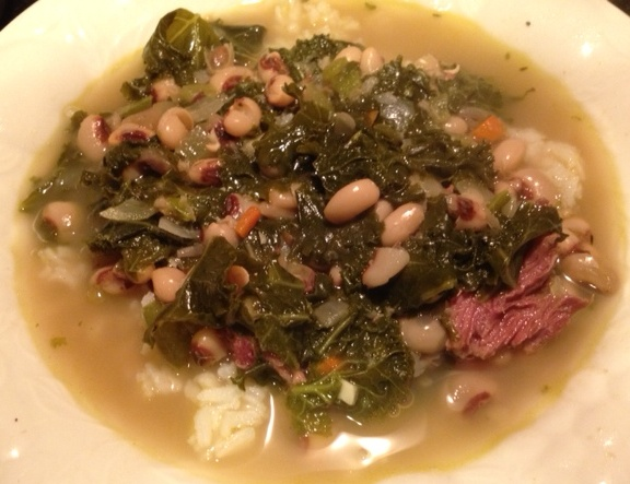 hoppin john soup new year's recipe