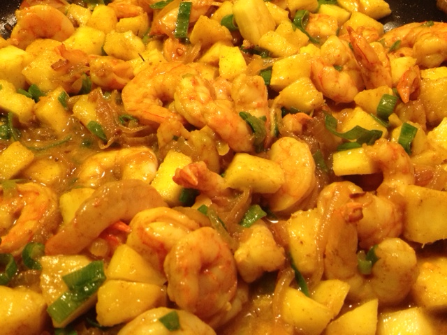 Malaysian Shrimp with Pineapple recipe | Grabbing the Gusto