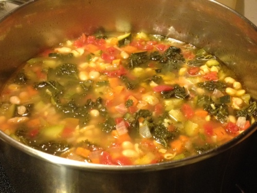 minestrone minestra soup recipe