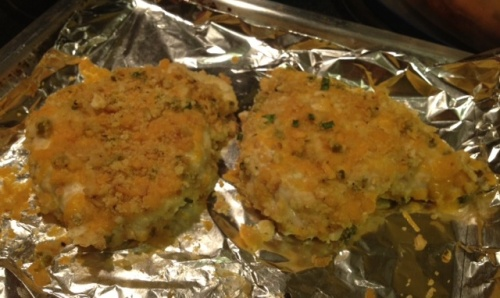 chicken breast cheddar cheese ritz crackers quick recipe