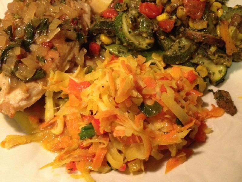 Kohlrabi Parmesan | Grabbing the Gusto