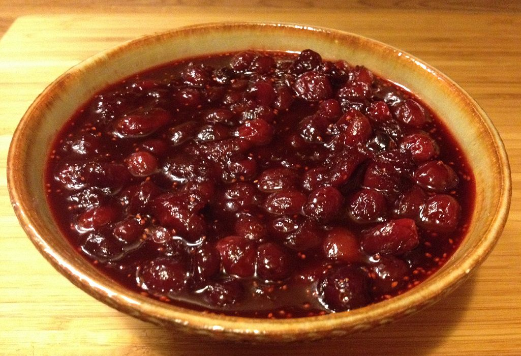 Nantucket cranberry sauce | Grabbing the Gusto