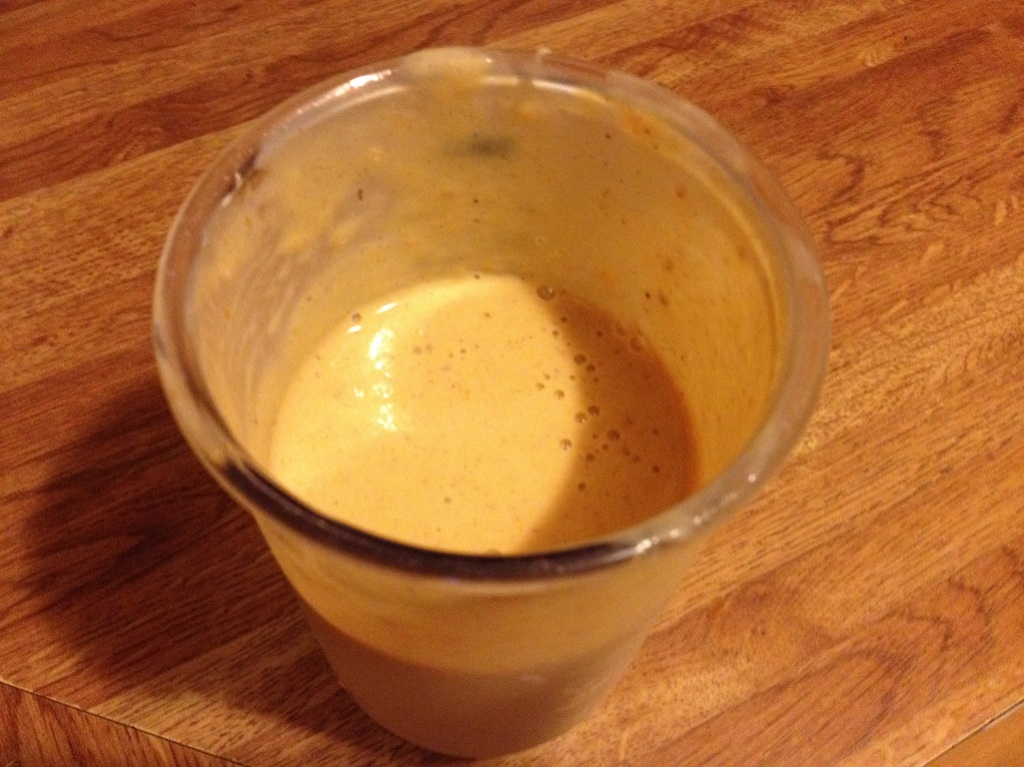 Pumpkin Smoothie |Grabbing the Gusto