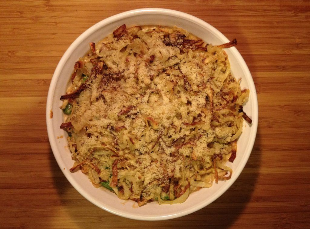 Green Bean Casserole | Grabbing the Gusto