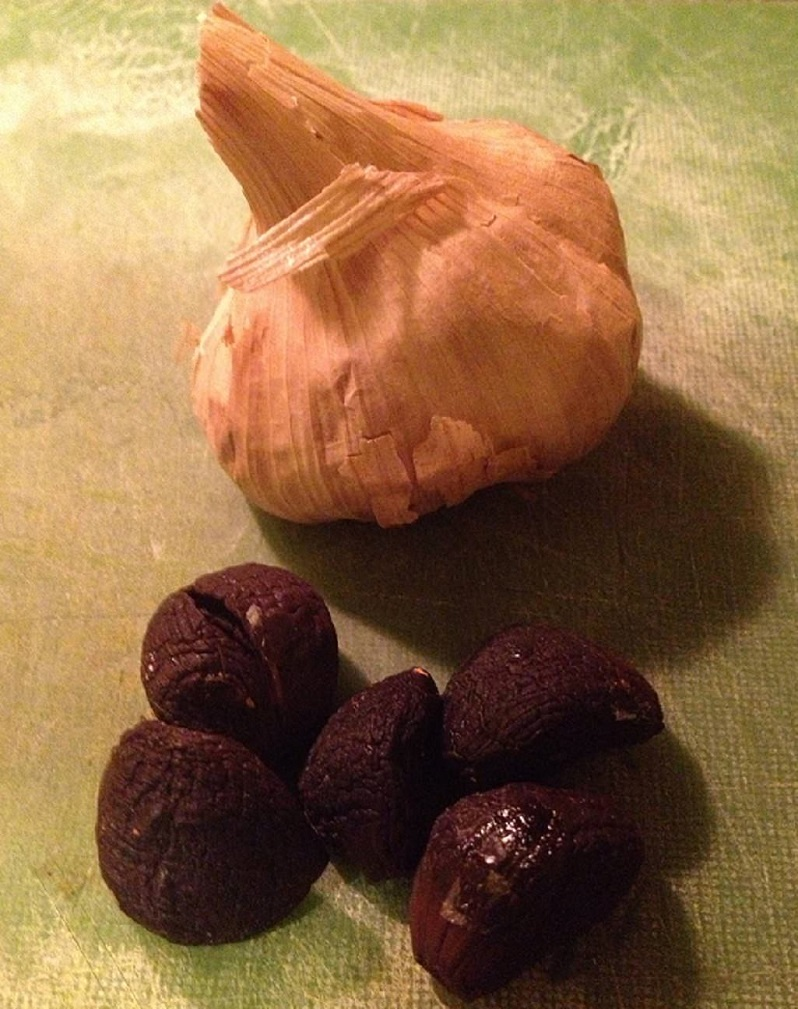 Black garlic from Obis One | Grabbing the Gusto