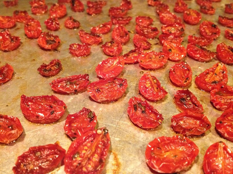Slow-Roasted Tomatoes recipe | Grabbing the Gusto