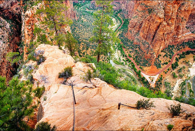 Angel's Landing trail, Zion National Park