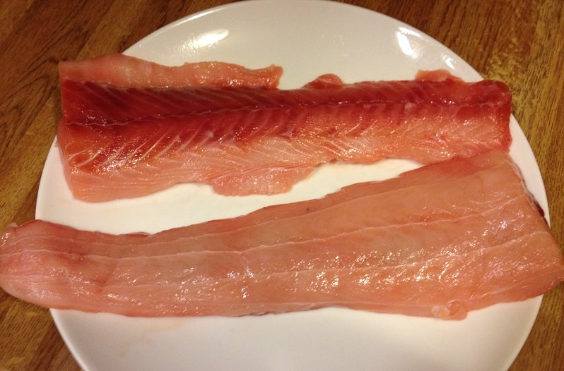 Smooth Dogfish Fillets   Grabbing the Gusto