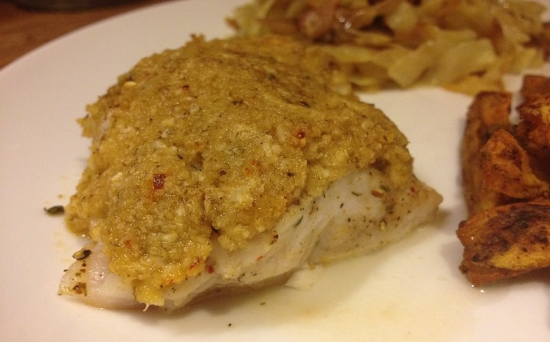 New Bay Golden Tilefish recipe | Grabbing the Gusto