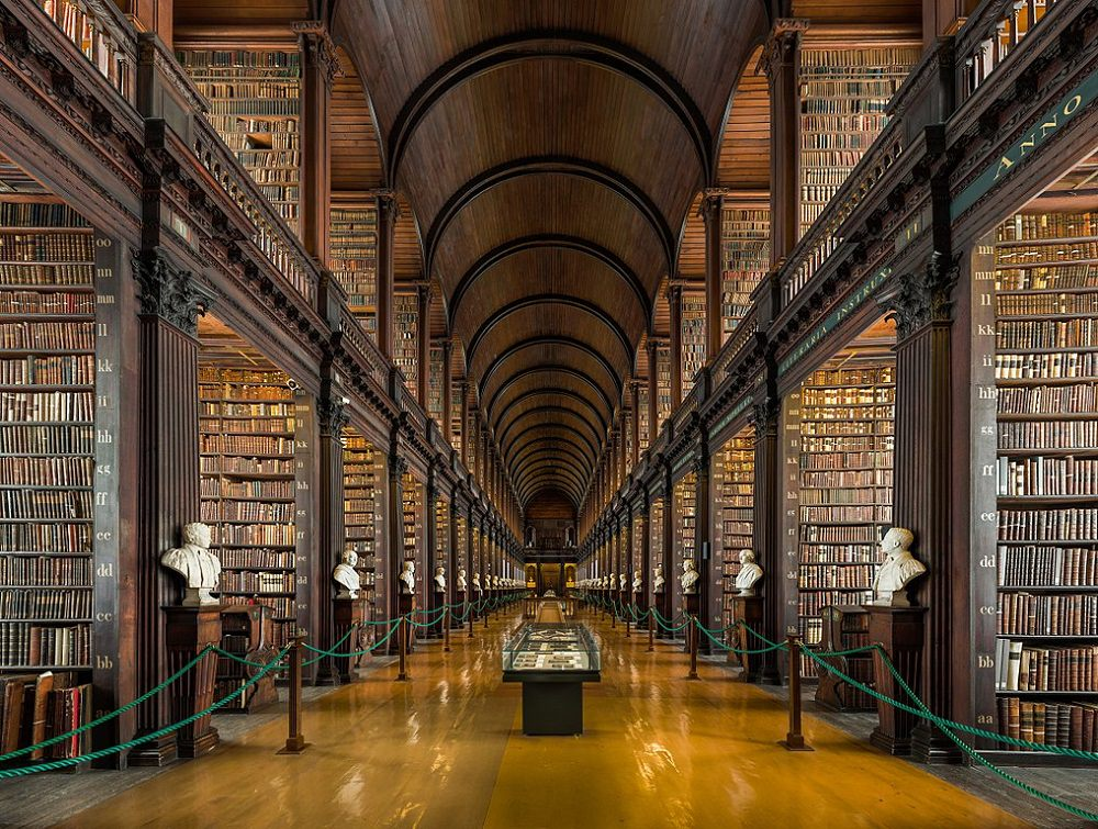 ebooks on sale - Old Library, Trinity College, Dublin