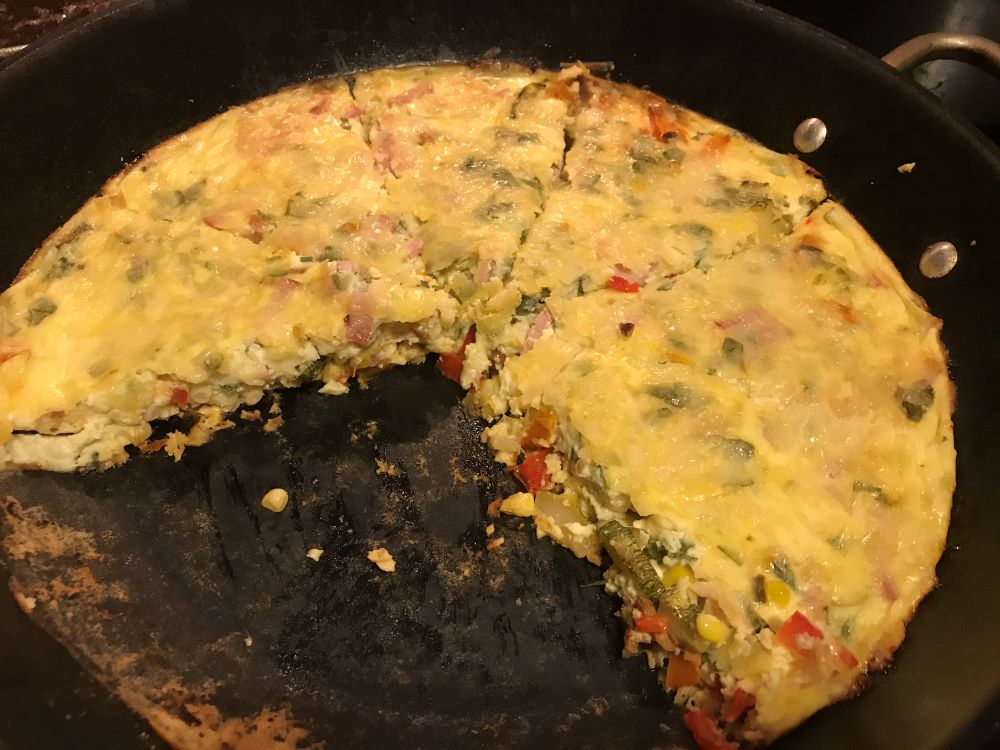 Menu ideas and recipes for bluefish, tilefish, sweet bell peppers, zucchini, corn and greens